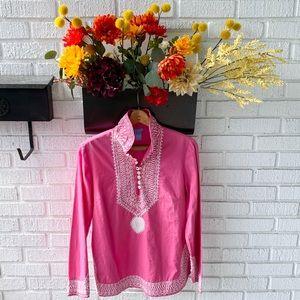 Elizabeth McKay TS Dixion Boho Tunic Embroidered